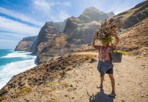 Kap Verde Lokalbefolkning Vandramera - Vandringsresor