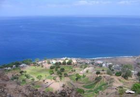 Kap Verde Hus nära kusten Vandramera - Vandringsresor