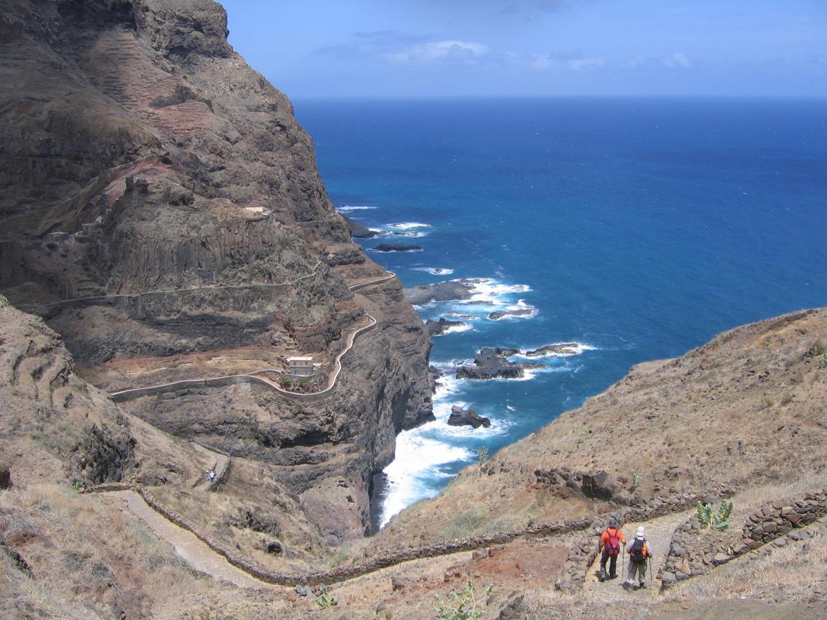 Kap Verde Berg Vandramera - Vandringsresor