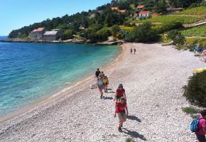 Kroatien Badstrand Vandramera - Vandringsresor