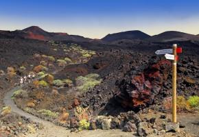 La Palma Vulkanisk ö Vandramera - Vandringsresor