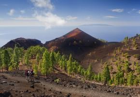La Palma Vulkaniska rester Vandramera - Vandringsresor