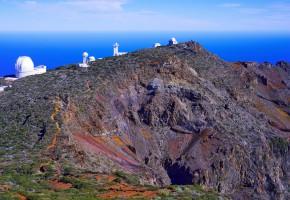 La Palma astronomisk observatorium Vandramera - Vandringsresor