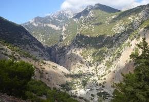 Kreta Bergskedja Vandramera - Vandringsresor