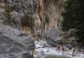 Kreta Samariaravinen Vandramera - Vandringsresor