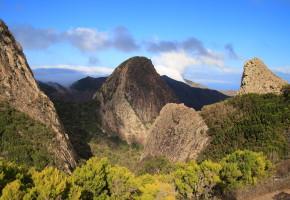 La Gomera Landskap Vandramera - Vandringsresor