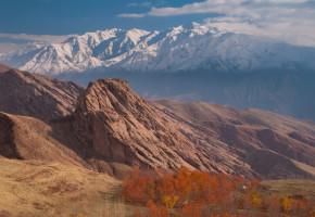 Iran, Vacker bergkedja Vandramera - Vandringsresor