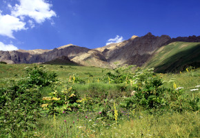 Iran, Vackra fält och bergskedjor Vandramera - Vandringsresor