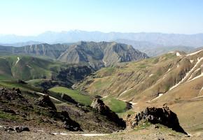 Iran, Böljande landskap Vandramera - Vandringsresor