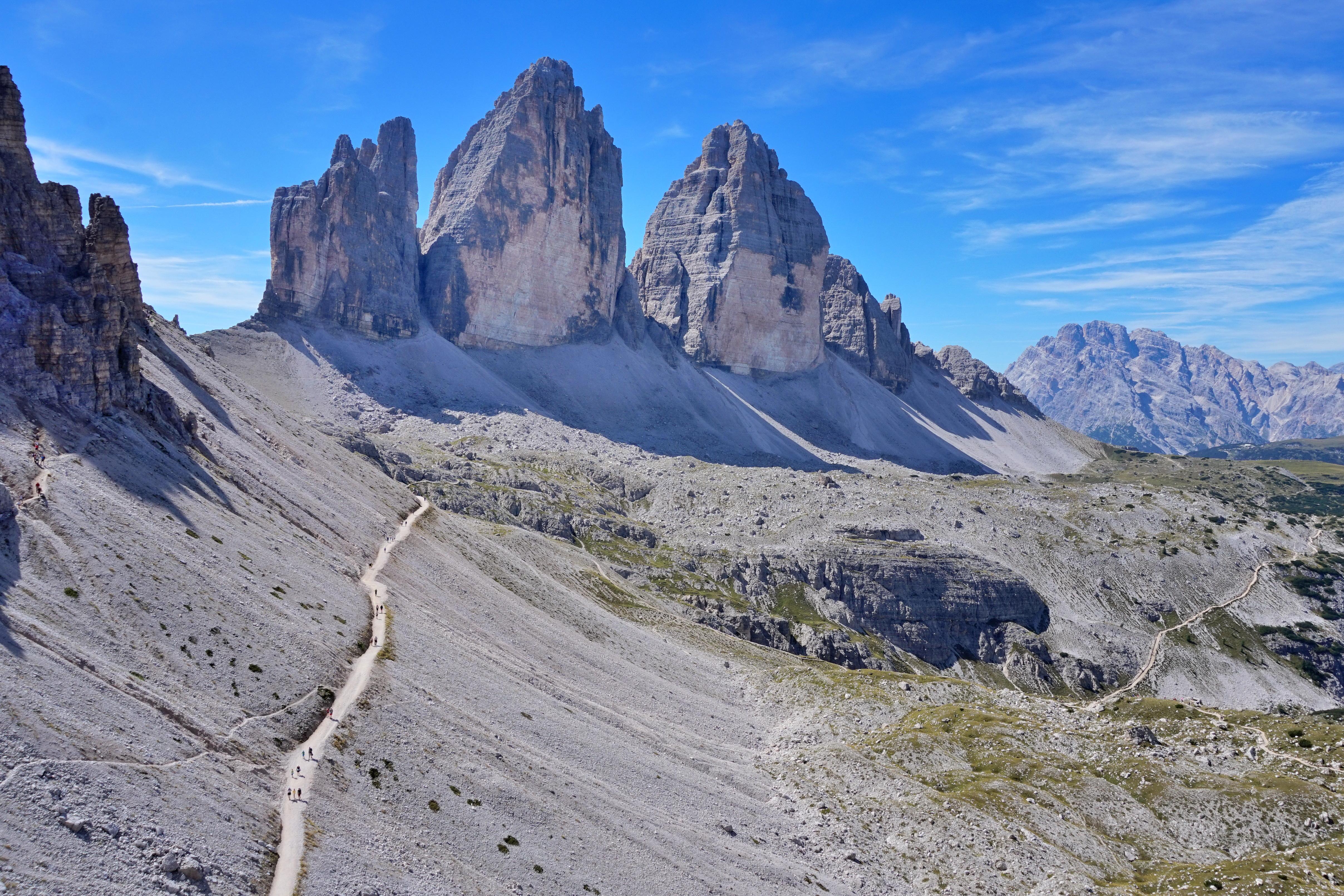 Dolomiti Cortina Tre Cime di Lavaredo Vandramera - Vandringsresor