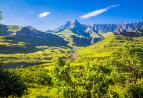 Sydafrika vacker miljö Vandramera - Vandringsresor