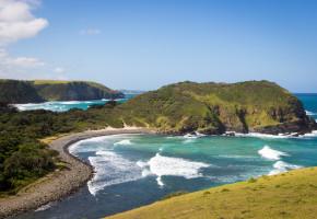Sydafrika Vacker växtlighet längsmed kusten Vandramera - Vandringsresor