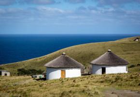 Sydafrika Hus vid havskust Vandramera - Vandringsresor