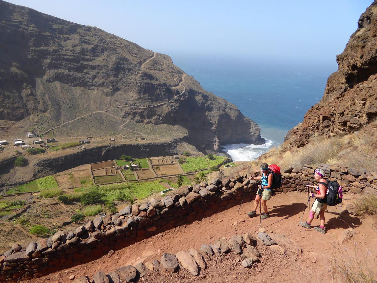 Kap Verde Vandringar längsmed bergskedja Vandramera - Vandringsresor