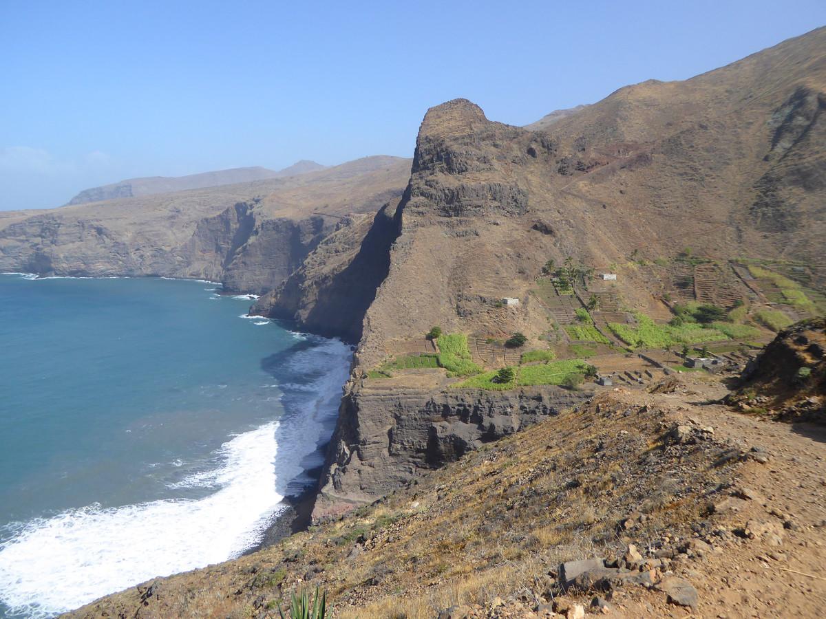 Kap Verde Bergskust Vandramera - Vandringsresor
