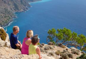 Kreta Fantastisk utsikt Vandramera - Vandringsresor