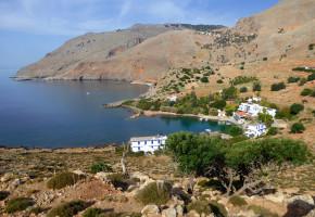 Kreta Vacker hamn Vandramera - Vandringsresor