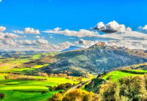 Sardinien, Översiktsbild Vandramera - Vandringsresor