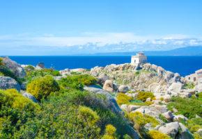 Sardinien, Vacker kust Vandramera - Vandringsresor