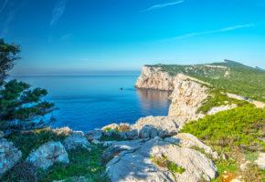 Sardinien, Vacker bergskedja Vandramera - Vandringsresor