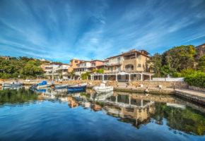Sardinien, Magisk Hamn Vandramera - Vandringsresor