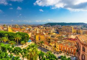 Sardinien, Stadsmiljö Vandramera - Vandringsresor