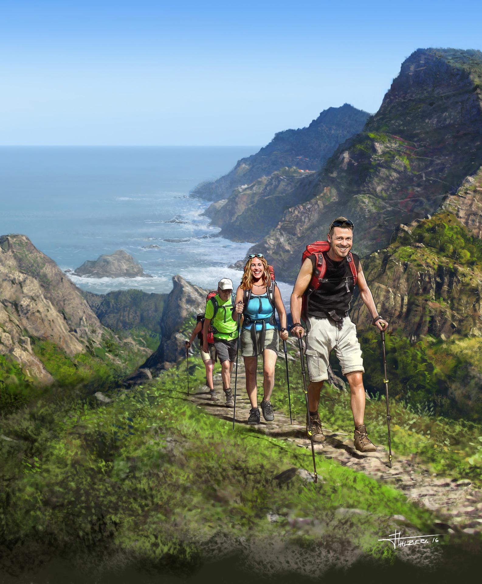 Våra vandringsresor - Annons Vandramera - Vandringsresor