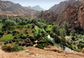 Marocko berg Vandramera - Vandringsresor