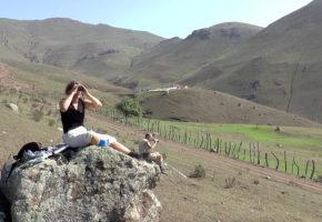 Iran, Kikar på utsikten Vandramera - Vandringsresor