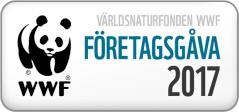 Världsnaturfonden wwf företagsgåva 2017 Vandramera - Vandringsresor