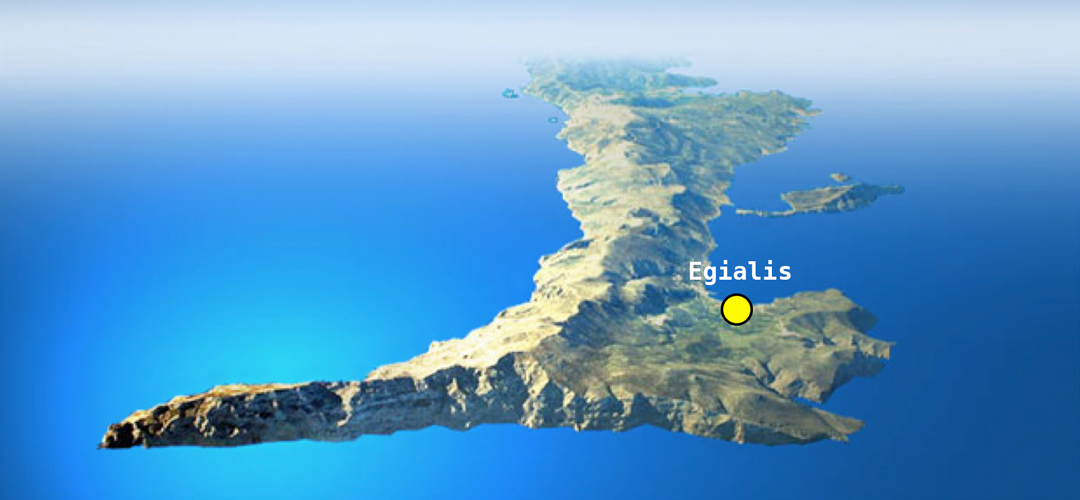 Karta Egialis Vandramera - Vandringsresor